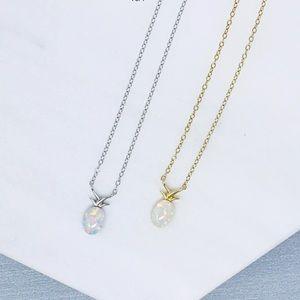 Jewelry - Minimalist Pineapple Pendant Sterling Necklace
